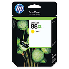 HP 88XL, (C9393AN) High Yield Yellow Original Ink Cartridge
