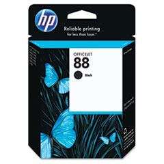 HP 88, (C9385AN) Black Original Ink Cartridge