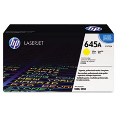 HP 645A, (C9732A) Yellow Original LaserJet Toner Cartridge