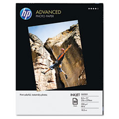 Advanced Photo Paper, 56 lbs., Glossy, 8-1/2 x 11, 50 Sheets/Pack