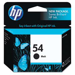 HP 54, (CB334AN) Black Original Ink Cartridge
