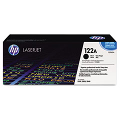 HP 122A, (Q3960A) Black Original LaserJet Toner Cartridge