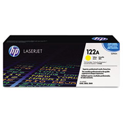 HP 122A, (Q3962A) Yellow Original LaserJet Toner Cartridge