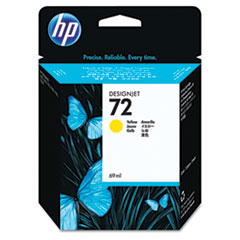 HP 72, (C9400A) Yellow Original Ink Cartridge