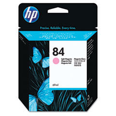 HP 84, (C5018A) Light Magenta Original Ink Cartridge