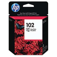 HP 102, (C9360AM) Gray Photo Original Ink Cartridge