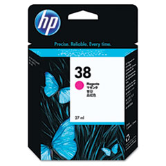 HP 38, (C9416A) Magenta Pigment Original Ink Cartridge