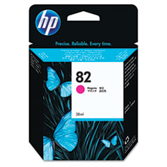 HP 82, (CH567A) Magenta Original Ink Cartridge