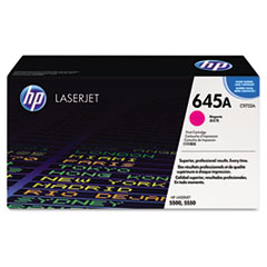 HP 645A, (C9733A) Magenta Original LaserJet Toner Cartridge