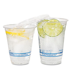 MotivationUSA * BlueStripe Recycled Content Clear Plastic Cold Drink Cups, 16 oz., Cle at Sears.com