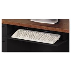 Steel Keyboard Drawer, 23 x 14, Black ALESD312314BW