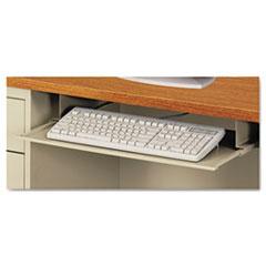 Steel Keyboard Drawer, 23 x 14, Putty ALESD312314PO
