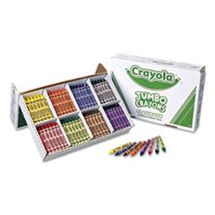 Jumbo Classpack Crayons, 25 Each of 8 Colors, 200/Set