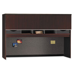 Milano2 Collection Credenza Overhead, Harvest Cherry