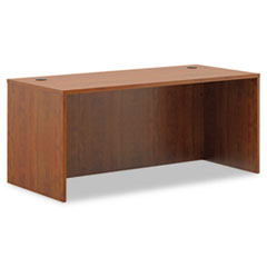BL Laminate Series Rectangular Desk Shell, 66w x 30w x 29h, Medium Cherry
