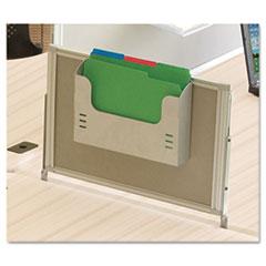 iFlex Series Privacy Panel, 21 1/2w x 1d x 17h, Gray BLT90063
