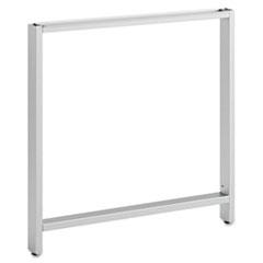 """Leg Kit-Rectangular Desk for 30""""H Storage Momentum: Silver BSH341OLEGSV03"""