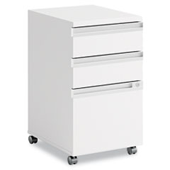 Momentum Collection Mobile Pedestal File (B/B/F), White BSH34F53WH