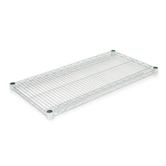 Industrial Wire Shelving Extra Wire Shelves, 36w x 18d, Silver, 2 Shelves/Carton ALESW583618SR