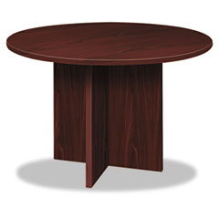 BL Laminate Series Round Conference Table, 48 dia. X 29-1/2h, Mahogany
