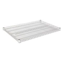 Industrial Wire Shelving Extra Wire Shelves, 36w x 24d, Silver, 2 Shelves/Carton ALESW583624SR
