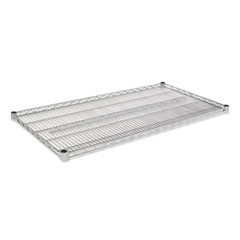 Industrial Wire Shelving Extra Wire Shelves, 48w x 24d, Silver, 2 Shelves/Carton ALESW584824SR