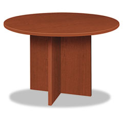 BL Laminate Series Round Conference Table, 48 dia. X 29-1/2h, Medium Cherry