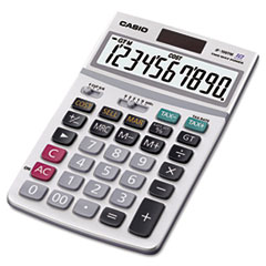 JF100MS Desktop Calculator, 10-Digit LCD
