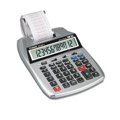 P23-DHV 12-Digit Printing Calculator, Purple/Red Print, 2.3 Lines/Sec