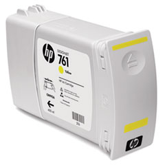 HP 761, (CM992A) Yellow Original Ink Cartridge