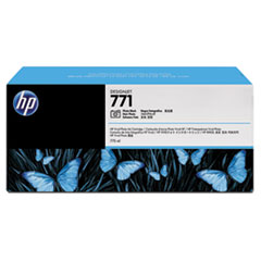 HP 771, (CR256A) 3-pack Photo Black Original Ink Cartridges
