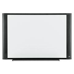 Melamine Dry Erase Board, 36 x 24, White, Graphite Frame
