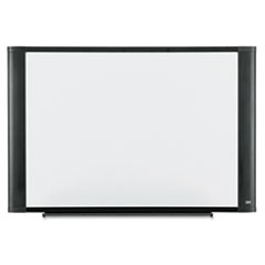 Melamine Dry Erase Board, 48 x 36, Graphite Frame