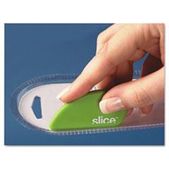 Slice Safety Cutter, Ceramic Blade, Green