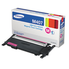 CLTM407S (CLT-M407S) Toner, 1,000 Page-Yield, Magenta