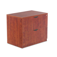 Alera Valencia Series Two Drawer Lateral File, 34w x 22 3/4d x 29 1/2h, Cherry