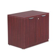 Alera Valencia Series Storage Cabinet, 34w x 22 3/4d x 29 1/2h, Mahogany
