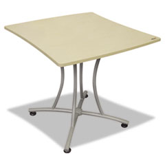 Trento Line Palermo Table, 33w x 31-1/2d x 29-1/2h, Oatmeal/Gray LITTR702OAT