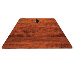 Valencia Series Training Table Top, Trapezoid, 47-1/4w x 23-5/8d, Medium Cherry