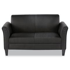 Alera Reception Lounge Furniture, Loveseat, 55 1/2w X 31 1