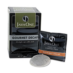 Coffee Pods, Colombian Decaf, Single Cup, Pods, 14/Box