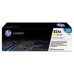 HP 824A, (CB382A) Yellow Original LaserJet Toner Cartridge