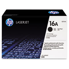 HP 16A, (Q7516A-G) Black Original LaserJet Toner Cartridge for US Government