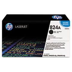 HP 824A, (CB384A) Black Original LaserJet Imaging Drum