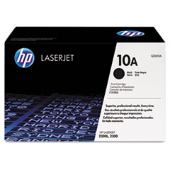 HP 10A, (Q2610A) Black Original LaserJet Toner Cartridge