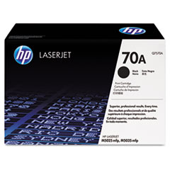 HP 70A, (Q7570A) Black Original LaserJet Toner Cartridge