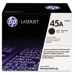 HP 45A, (Q5945A) Black Original LaserJet Toner Cartridge