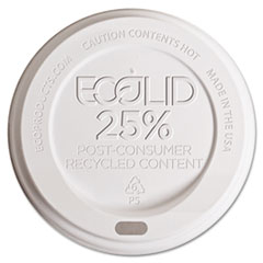 Eco-Products Eco-Lid 25% Recycled Content Hot Cup Lid, Fits 10-20 oz Cups, 1000/Car at Sears.com