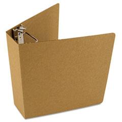 "Original Zero Waste Corrugated Binder, 3"" Capacity, 8-1/2 x 11, Brown Kraft"
