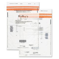 Tamper-Evident Deposit Bags, 9 x 12, Clear, 100 per Pack